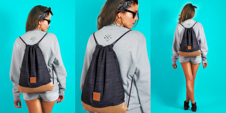 Der neue Denim Wood Sports Bag!