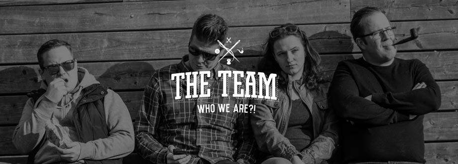 Unser hochmotiviertes Team