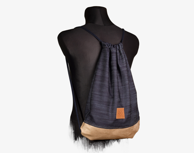 Denim Wood Sportsbag