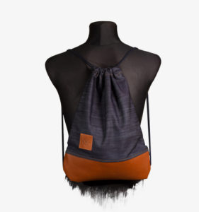 Denim Leather Sports Bag 2
