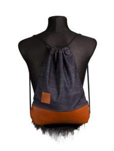 Denim Leather Sports Bag 4