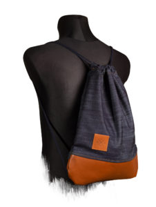 Denim Leather Sports Bag 3