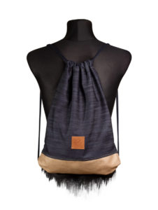 Denim Wood Sports Bag 4