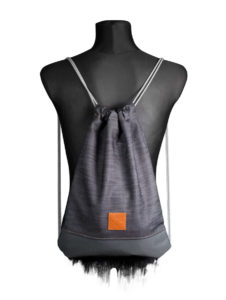 Grey Denim Sports Bag 2