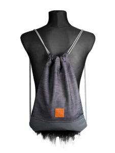Grey Denim Sports Bag 2