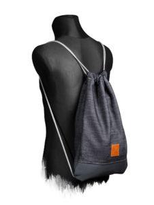 Grey Denim Sports Bag 3