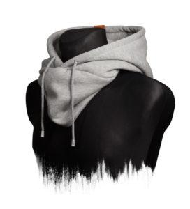 Hooded Loop (Heather) 3