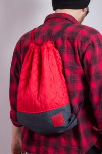 Red Denim Sports Bag 5