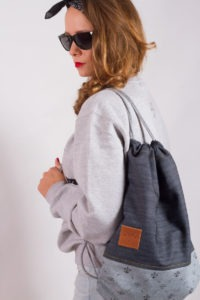 Denim Sports Bag 10