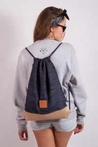 Denim Wood Sports Bag 11