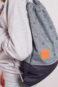 Twisted Denim Bag