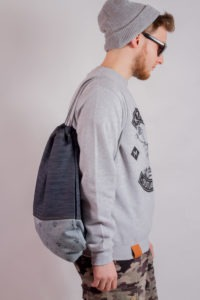 Denim Sports Bag 8