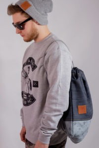 Denim Sports Bag 7