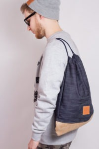 Denim Wood Sports Bag 9