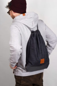Grey Denim Sports Bag 7