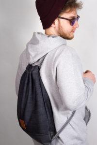 Grey Denim Sports Bag 9