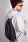 Grey Denim Sports Bag