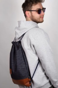 Denim Leather Sports Bag 7