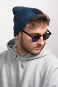 Rough Beanie (Blueberry) 5
