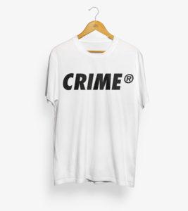 Crime Bold T-Shirt 1