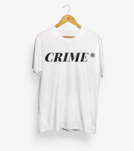 Crime Serif T-Shirt 1