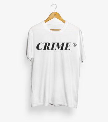 Crime Serif T-Shirt