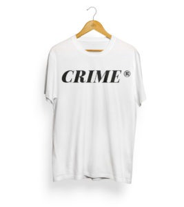 Crime Serif T-Shirt 3