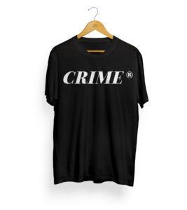 Crime Serif T-Shirt 5