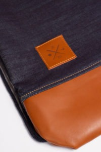Denim Leather Sports Bag 6