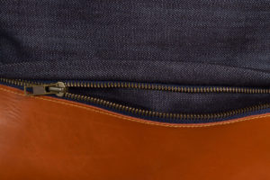 Denim Leather Sports Bag 5