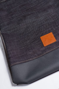 Grey Denim Sports Bag 4