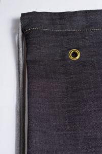 Grey Denim Sports Bag 5