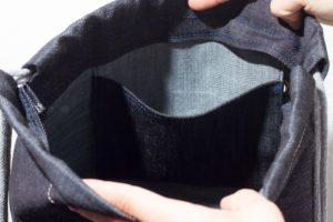 Grey Denim Sports Bag 6