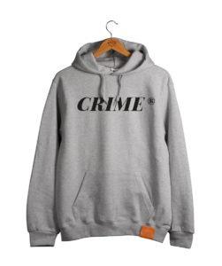 Crime Serif Hoodie 3
