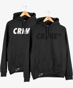 Crime Bold Hoodie 1