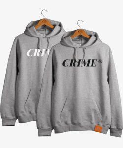 Crime Serif Hoodie 1