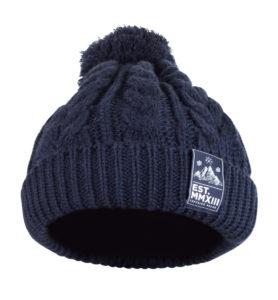 Knit Beanie (Navy) 3
