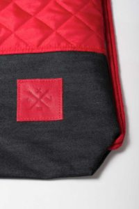 Red Denim Sports Bag 3