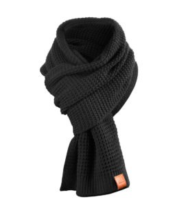 Rough Scarf (Black) 2