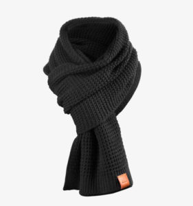 Rough Scarf (Black) 1