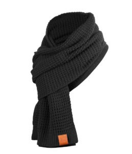 Rough Scarf (Black) 3