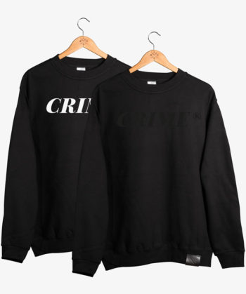 Crime Serif Sweater