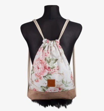 Floral Wood II Sports Bag