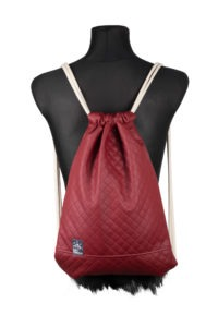 Quilted Sports Bag (Red) 2