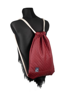 Quilted Sports Bag (Red) 3