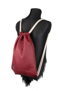 Quilted Sports Bag (Red) 4