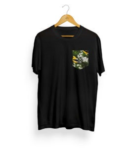 Pocket T-Shirt (Battle of the Birds) 3
