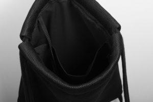 Black Mesh Sports Bag 6