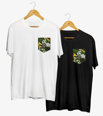 Pocket T-Shirt (Battle of the Birds)