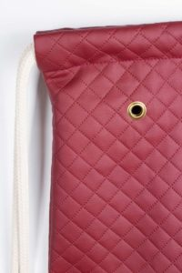 Quilted Sports Bag (Red) 6
